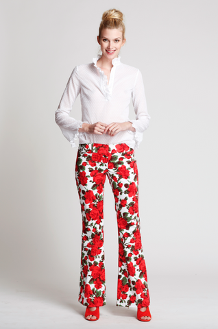 The Isabel Pants in Daisy Love