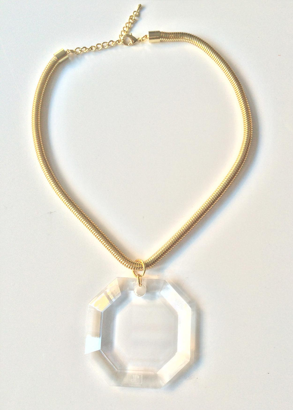 The Eugenie Lucite Necklace