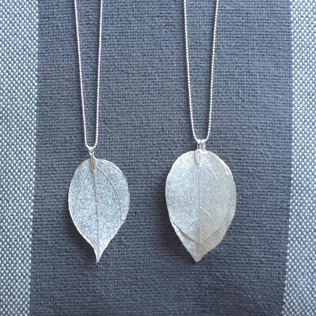 Delicate Leaf Necklace