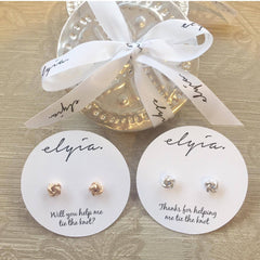 Bridesmaid Gift Set - Earrings