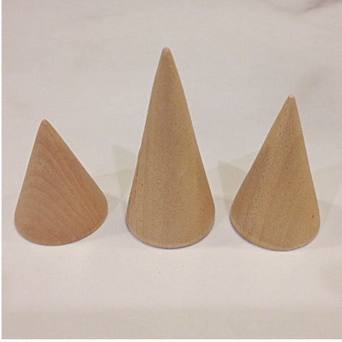 Elyia Wooden Ring Cones