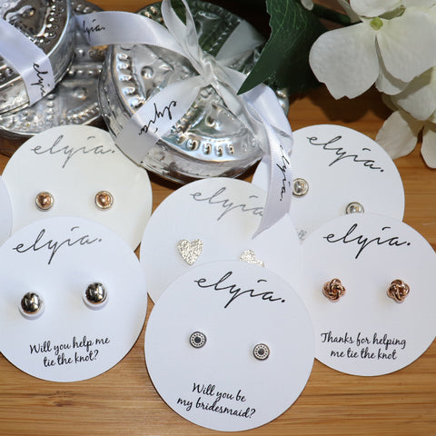 Bridesmaid Earring Gift Set