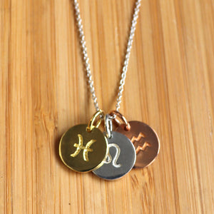 Zodiac Charm Necklace