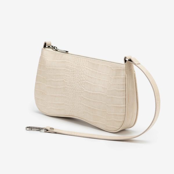 Naomi 90s Classic Shoulder Bag – Ivory