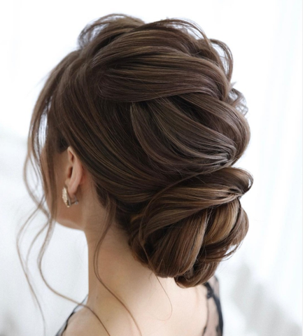 bridal hairstyles for brides, bridesmaids, weddings guests