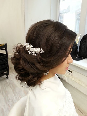 Bridal hair styles for asian indian pakistani weddings