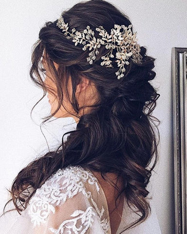 bridal hairstyles for indian pakistani arab turkish persian weddings bride bridesmaids