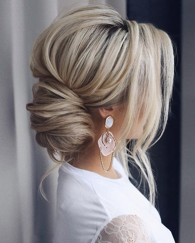 asian bridal hairstyles for long hair textured updos