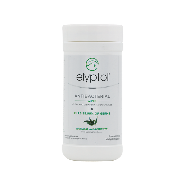 Elyptol Antibacterial Hard Surface Wipe, 65-Count Canister