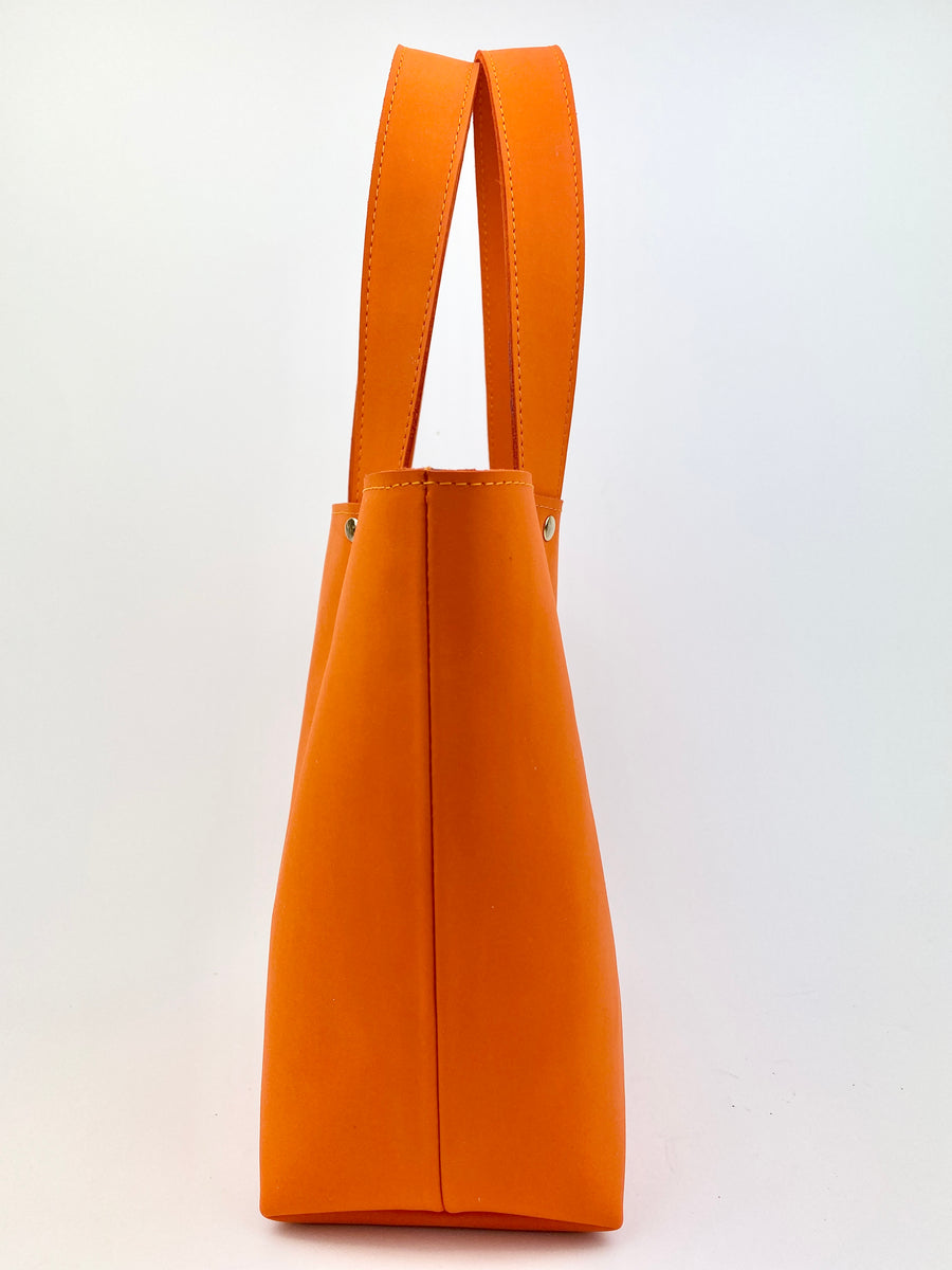 HELENA MINI BAG | ORANGE SUEDE