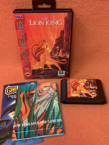 Lion King w/ Case & Jungle Book Poster