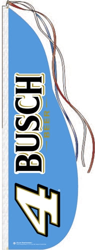Busch Welcome Race Fans Feather Dancer Flag Kit
