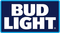 Bud Light 2 Color Stacked Fleet Decal