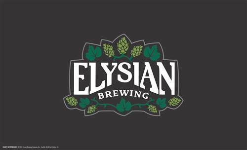 "Elysian Brewing Keg Wrap Decal 28"" x 17"""