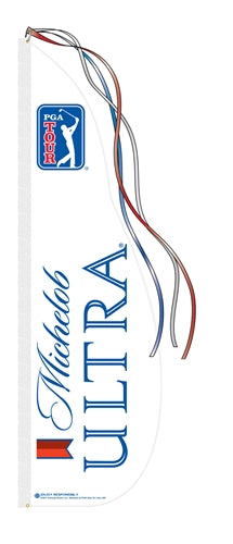 Michelob Ultra PGA Feather Dancer Flag Kit