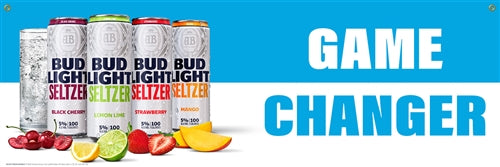 Bud Light Seltzer Game Changer Banner