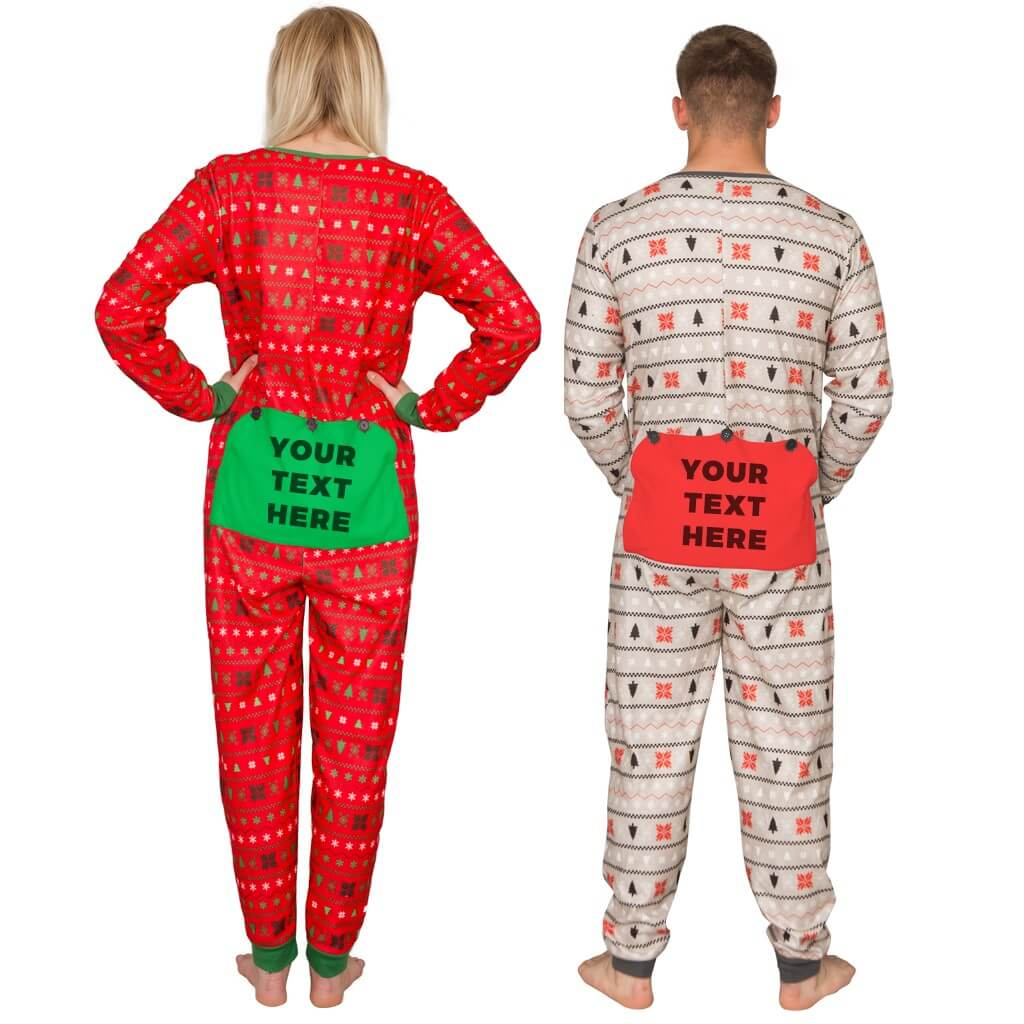 Custom Family Christmas Jumpsuit - Customize with Family Name - Ugly ... 76d3d00d0