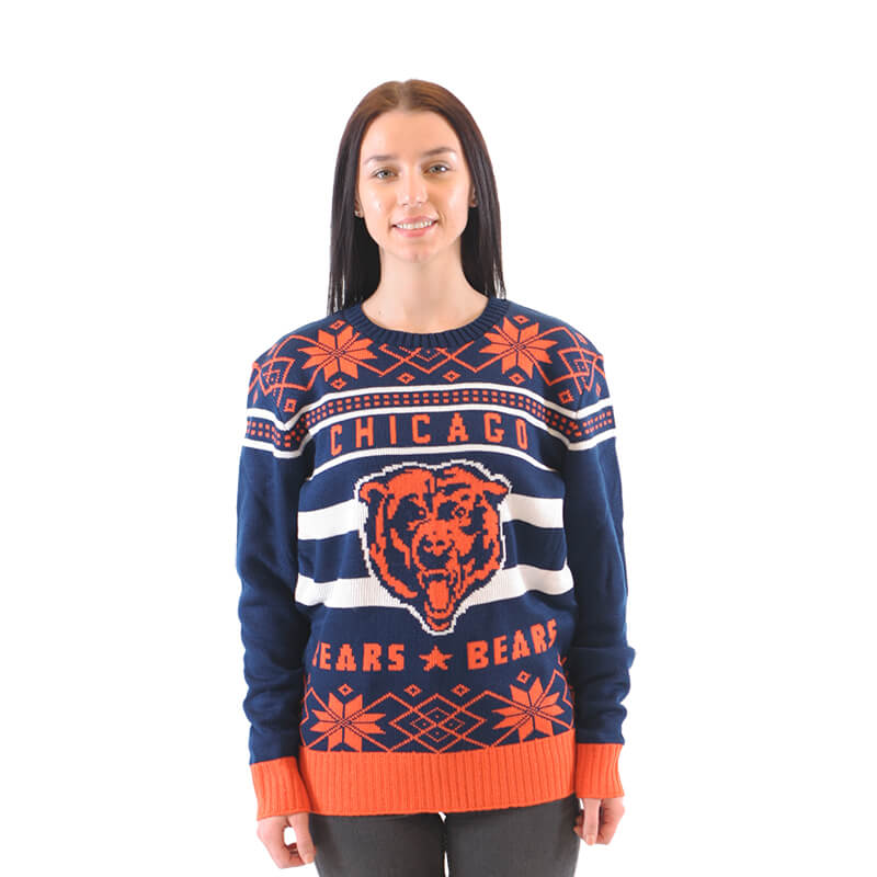 Chicago Bears Football Ugly Sweater Ugly Christmas Sweaters