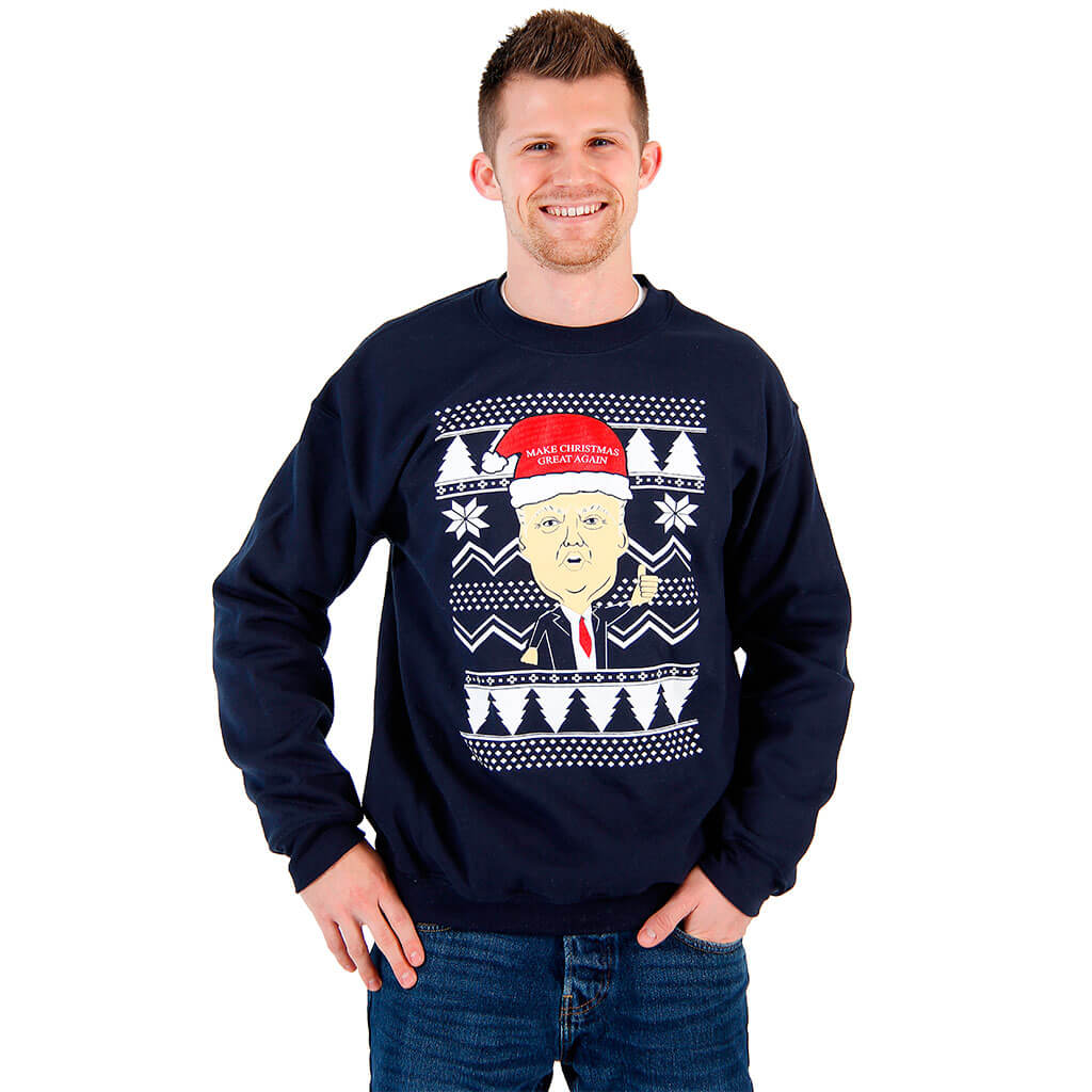 Donald Trump Make Christmas Great Again Ugly Sweatshirt