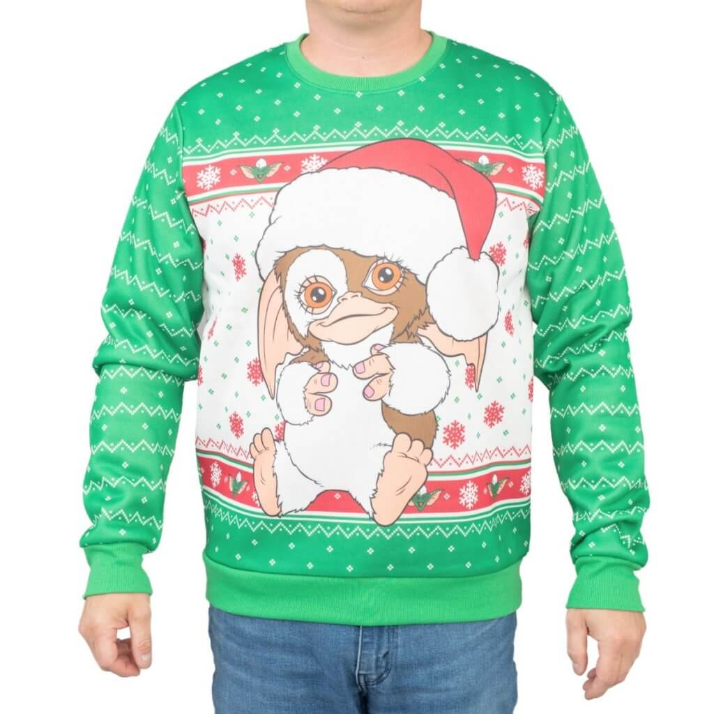 Gremlins Gizmo Santa Ugly Christmas Sweater