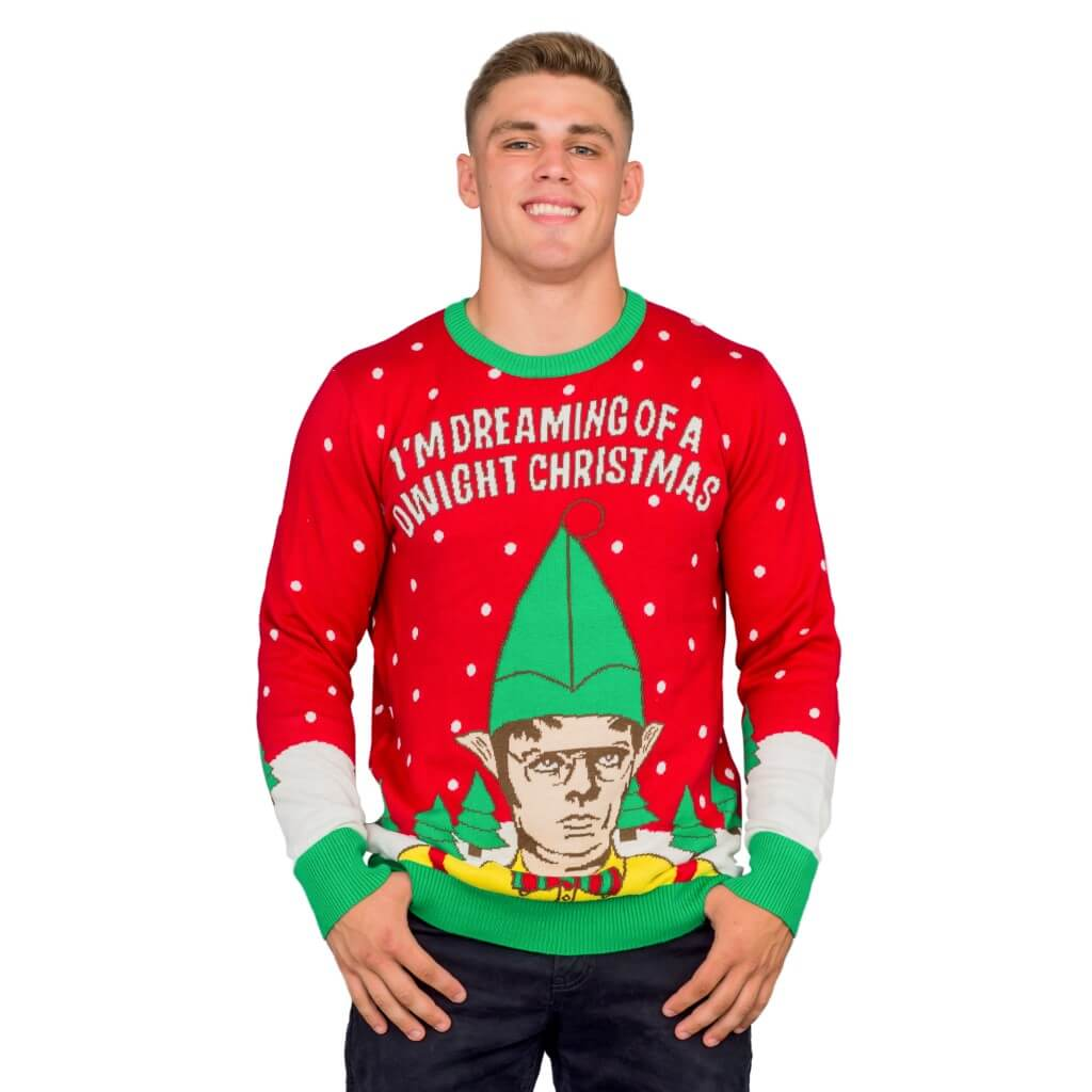 The Office Christmas Sweater.I M Dreaming Of A Dwight Christmas Ugly Christmas Sweater
