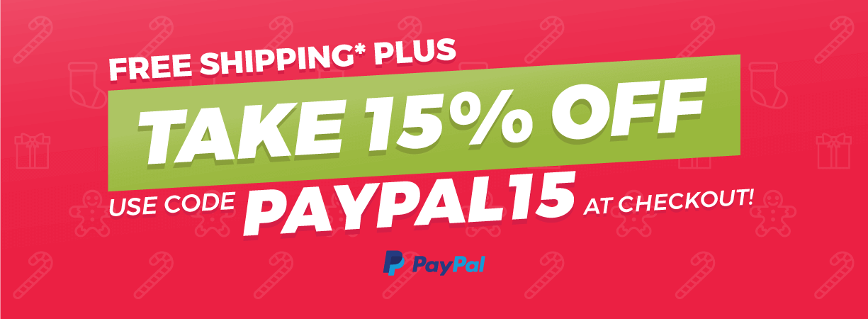 PayPal 15% Off