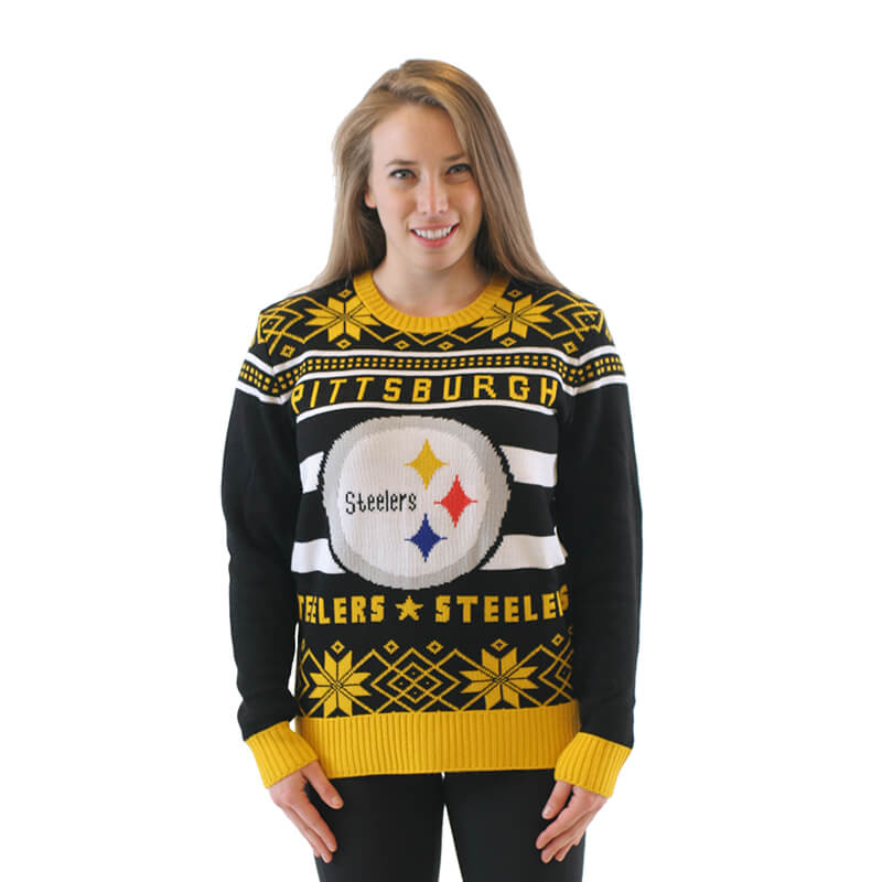low priced a95e8 7c08b Pittsburgh Steelers Football Ugly Christmas Sweater - Ugly ...