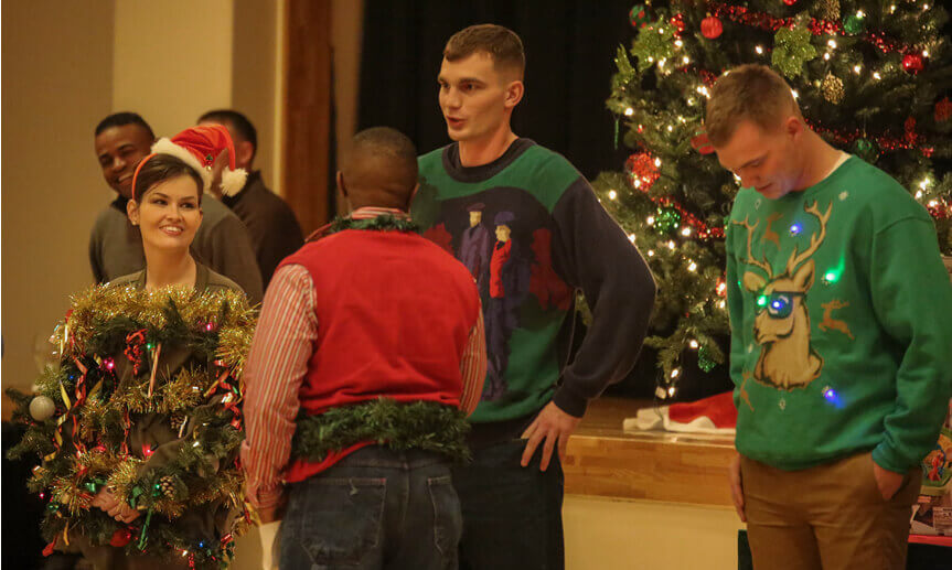 Ugly Christmas Sweaters Contest