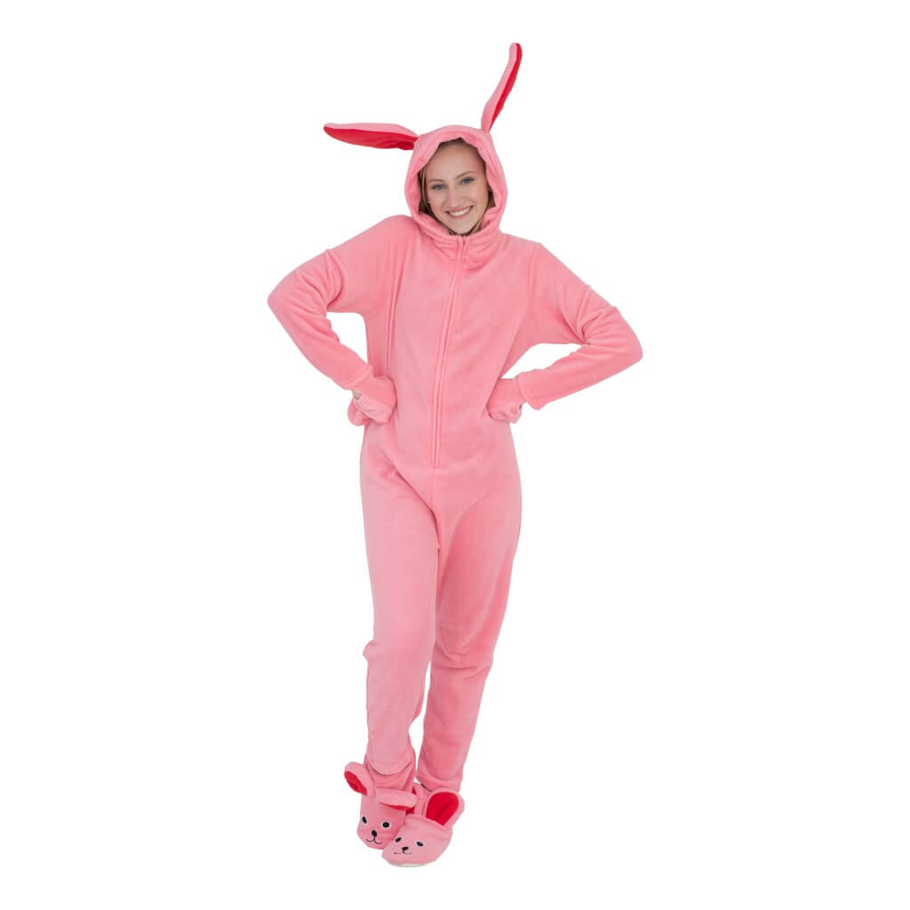 A Christmas Story Bunny Union Suit Pajama Costume