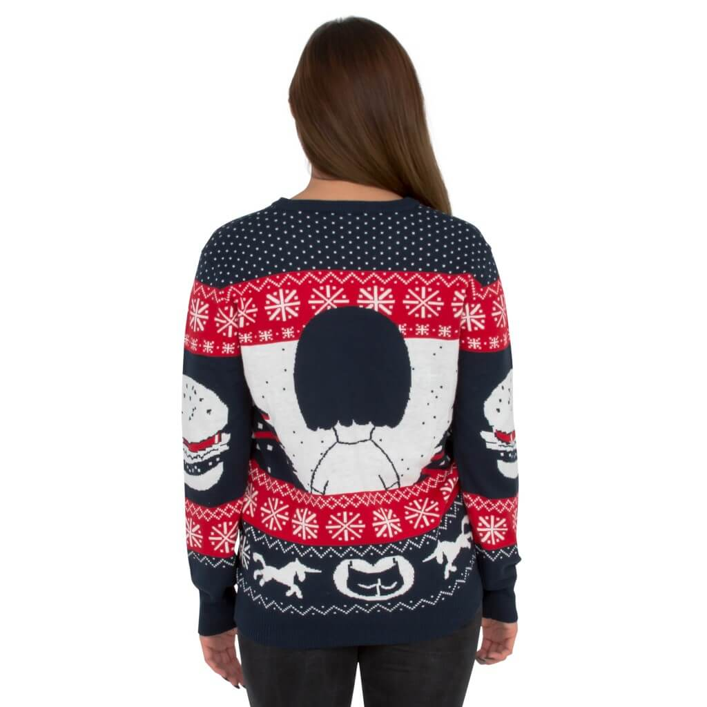 55888c47 ... All I Want for Xmas is Butts – Tina from Bob's Burgers Ugly Sweater Back