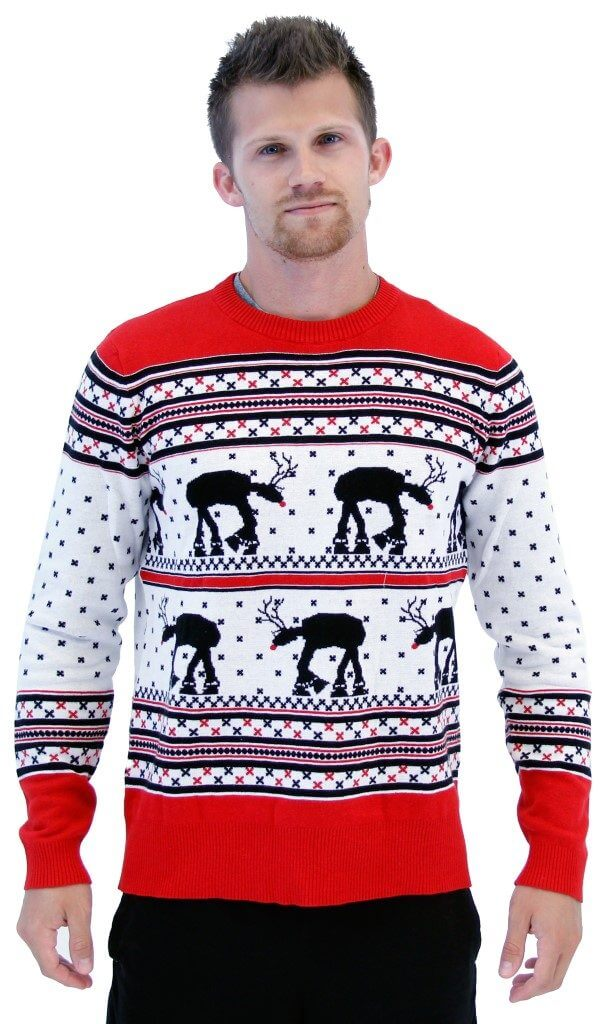 Star Wars AT-AT Reindeer Sweater