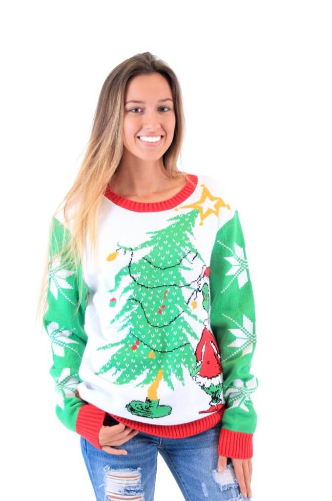 The Grinch Christmas Sweater Ugly Christmas Sweaters