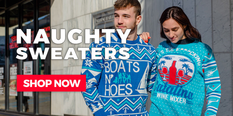 Naughty Adult Ugly Sweaters