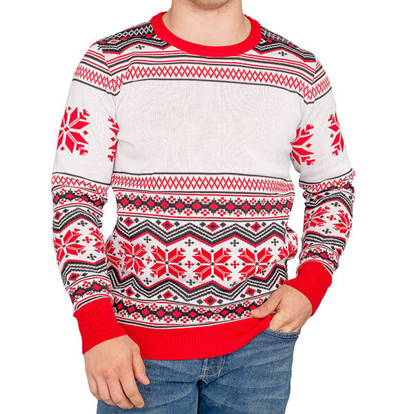 Custom Poly-Knit Ugly Sweater - Ugly Christmas Sweater