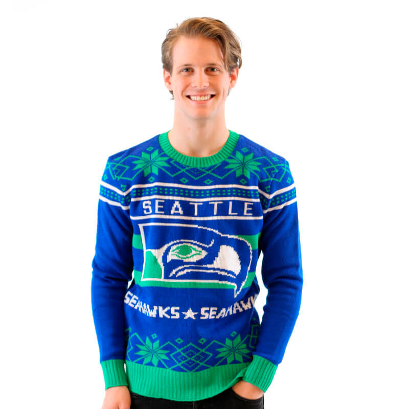 seattle seahawks christmas sweater - Seahawks Christmas Sweater