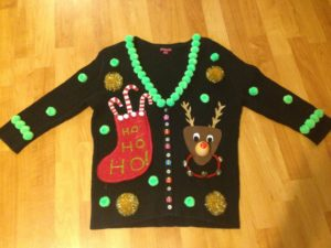 How to Make an Ugly Christmas Sweater - DIY Tips - Ugly Christmas ...