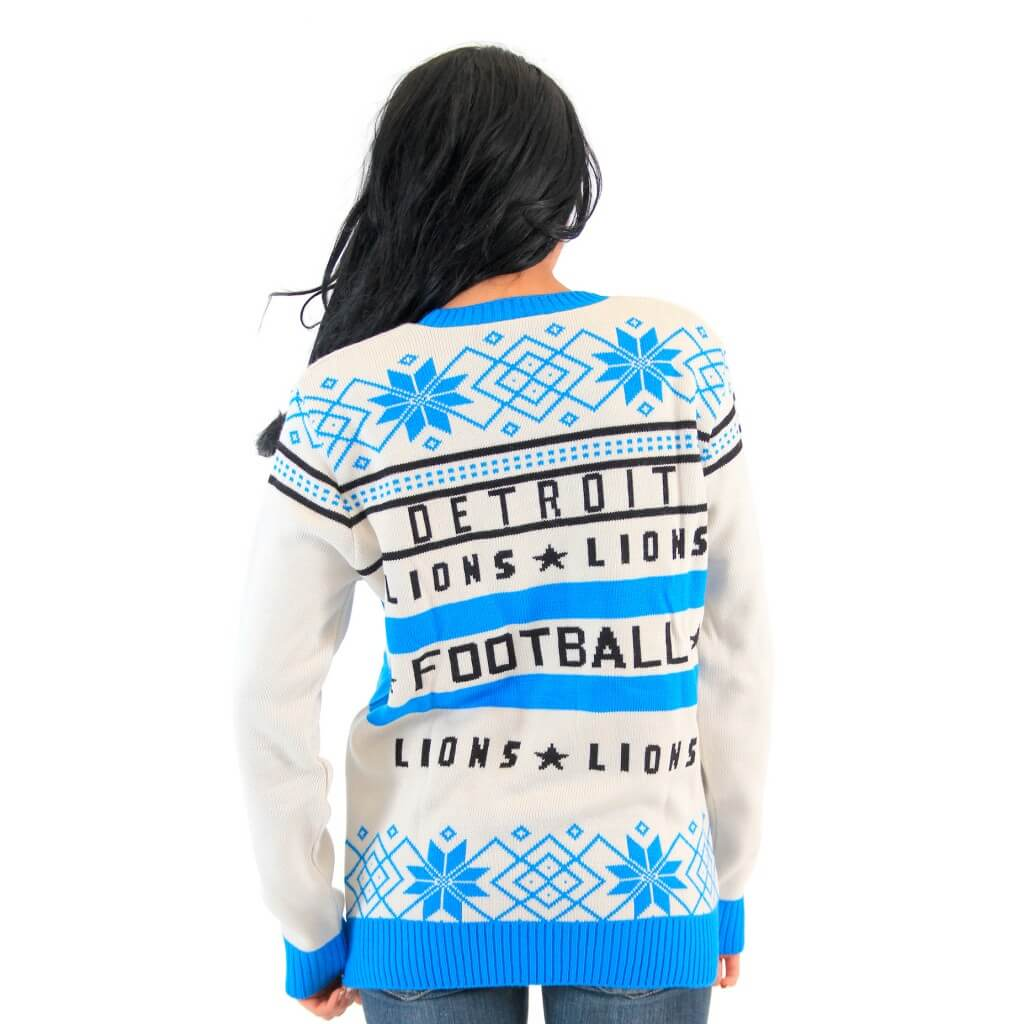 d31a11e3 Detroit Lions Football Ugly Sweater - Ugly Christmas Sweaters