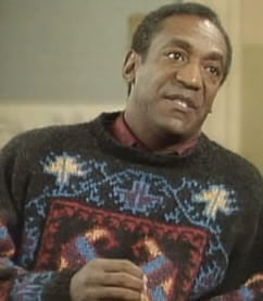 Ugly Christmas Sweater - Bill Cosby