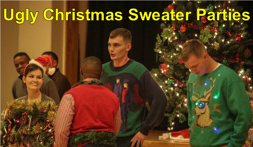 Christmas Sweater Party Ideas Part - 32: Ugly Christmas Sweater Party Ideas