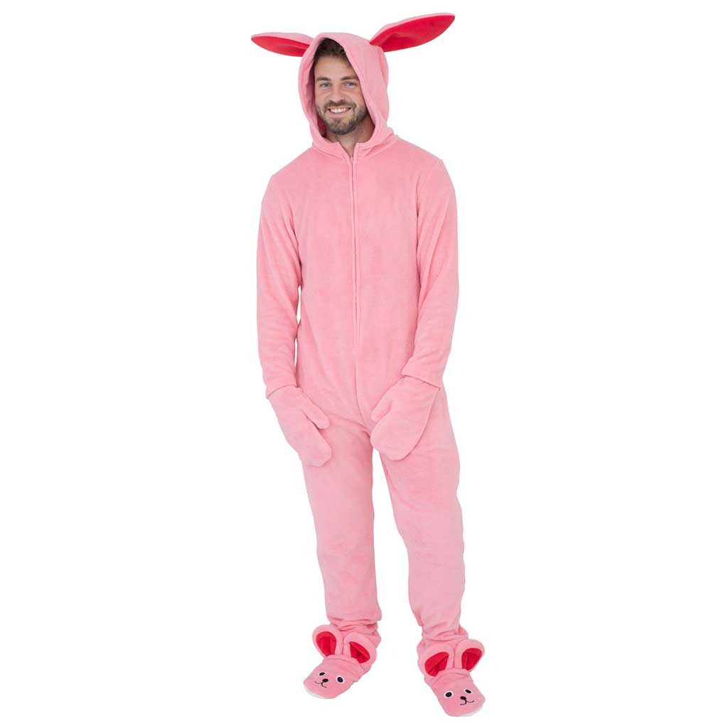 7fbcc8d0be A Christmas Story Bunny Union Suit Pajama Costume