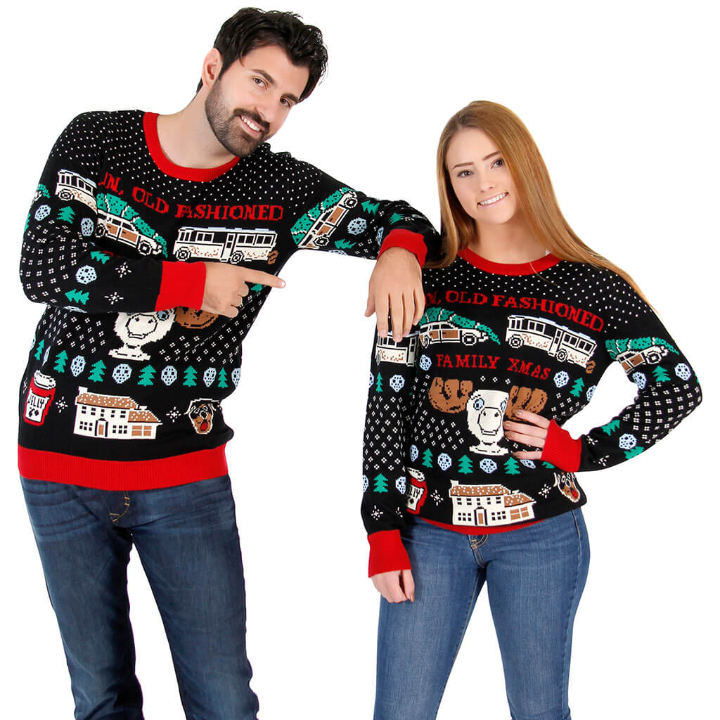 Old fashioned christmas sweaters