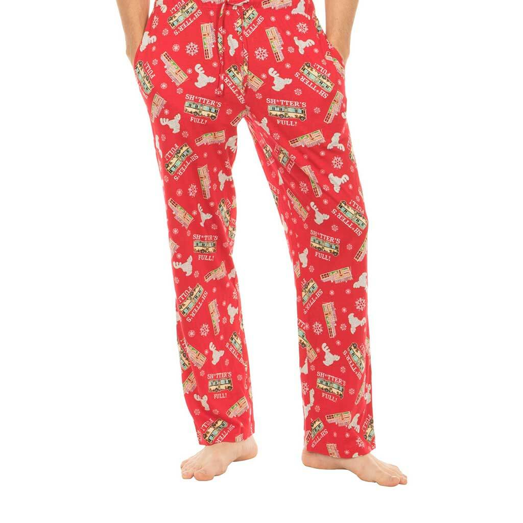 Christmas Vacation Shitter s Full Red Lounge Pants 4f438d3ee