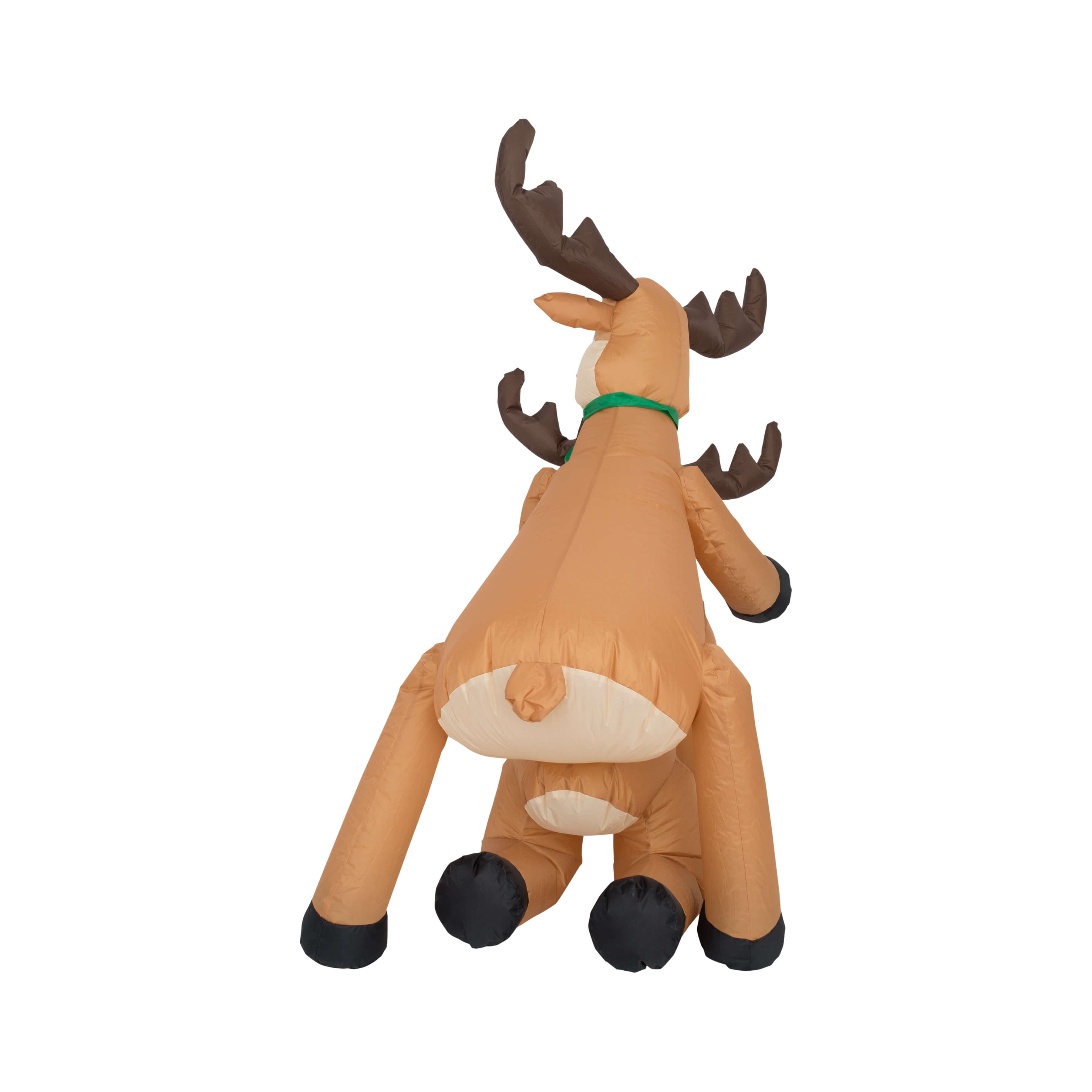 Funny Humping Reindeer Christmas Lawn Inflatable Decoration Back