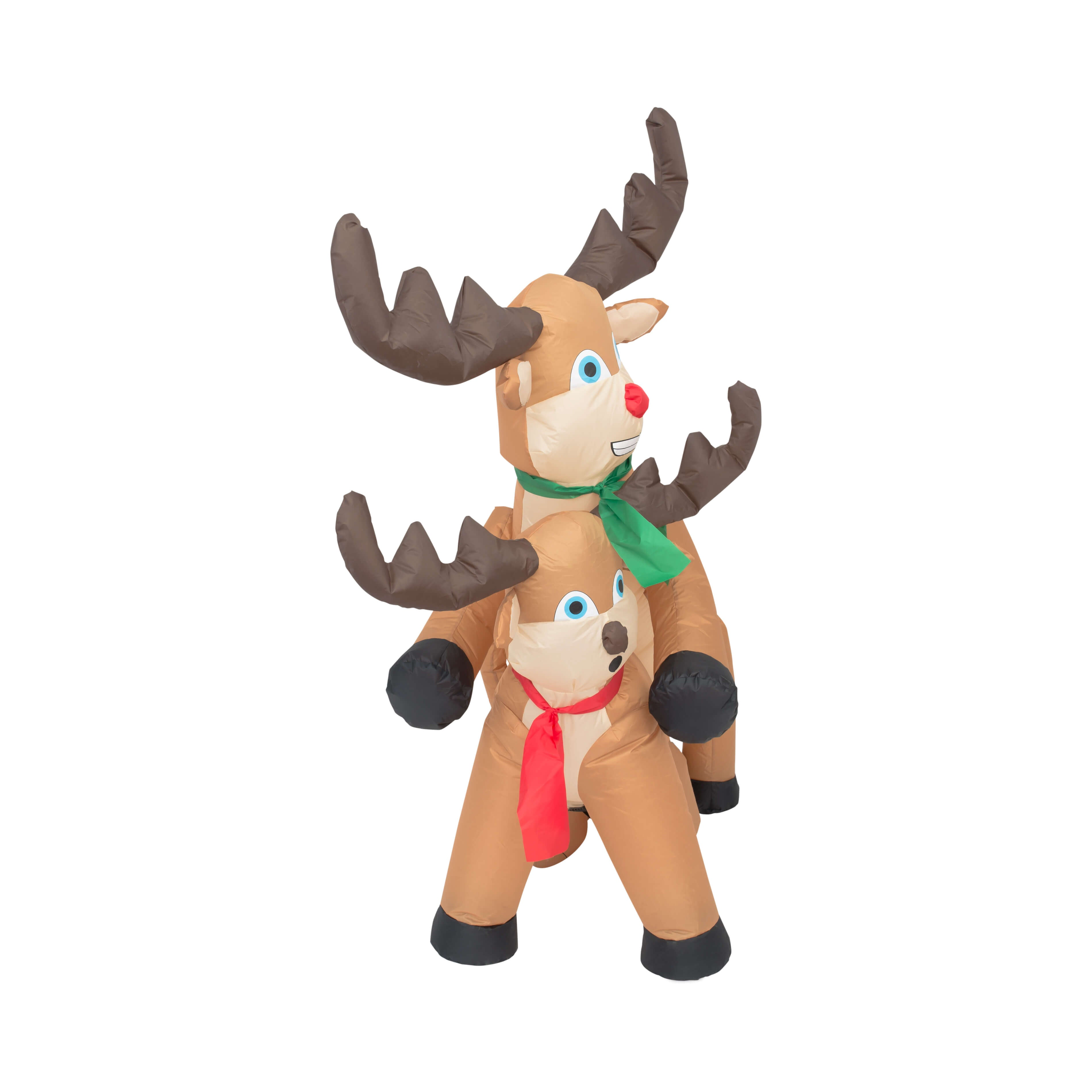 Lovely ... Funny Humping Reindeer Christmas Lawn Inflatable Decoration Front