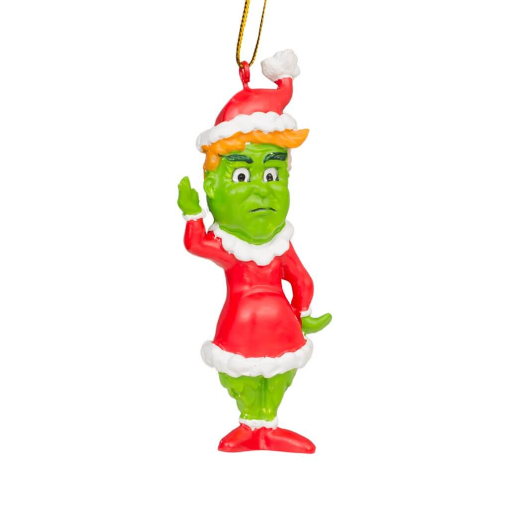 Trump Grinch Christmas Tree Ornament Decoration