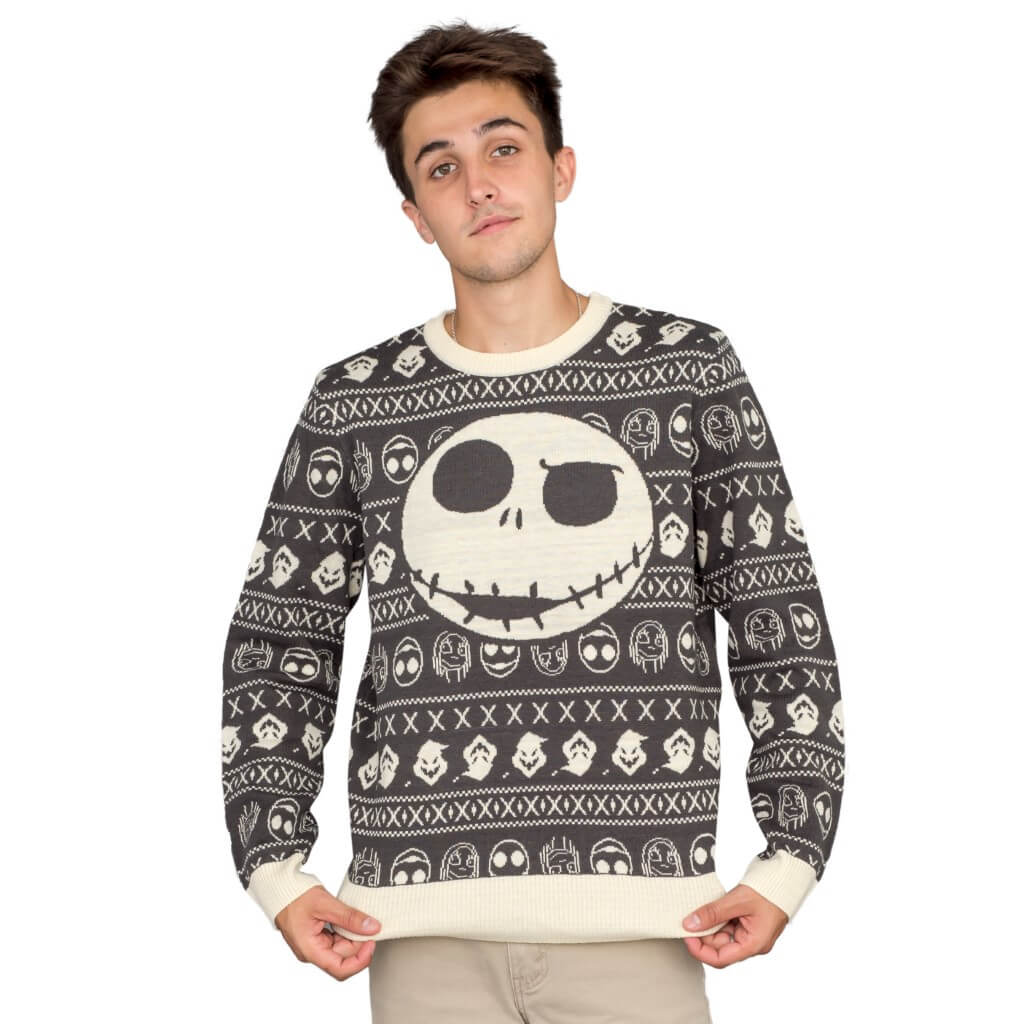 Jack Sally The Nightmare Before Christmas Ugly Sweater