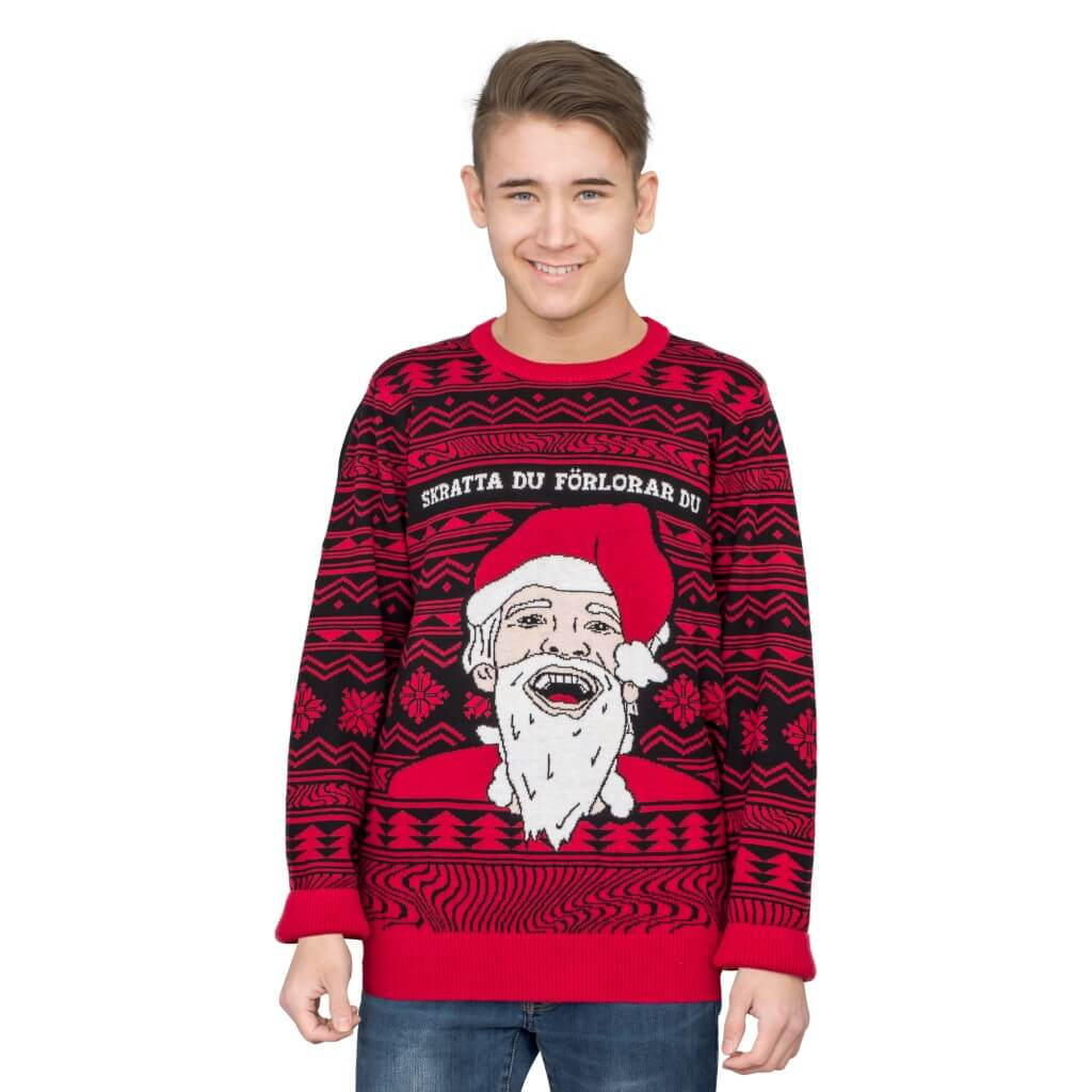 Ugly Christmas Sweaters.Pewdiepie Ugly Christmas Sweater