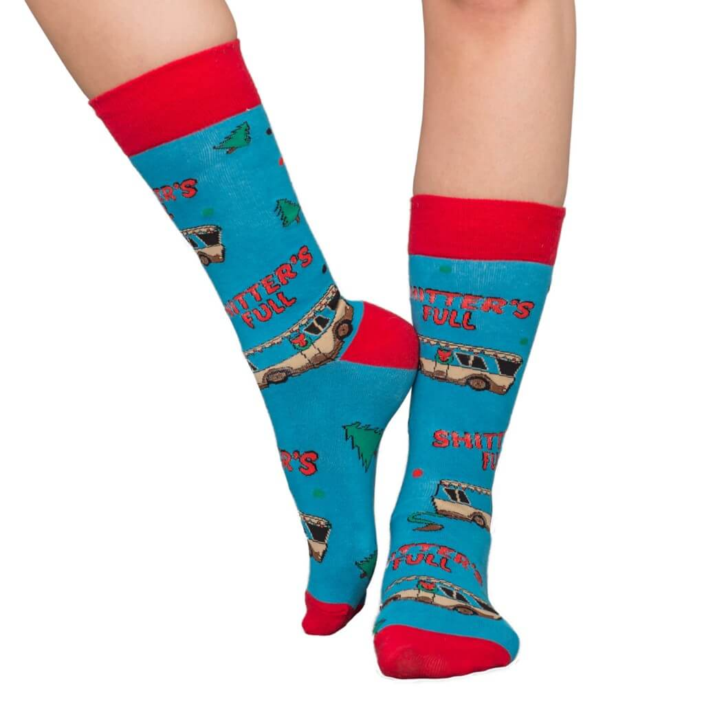 943725d021f National Lampoons Shitters Full Ugly Socks