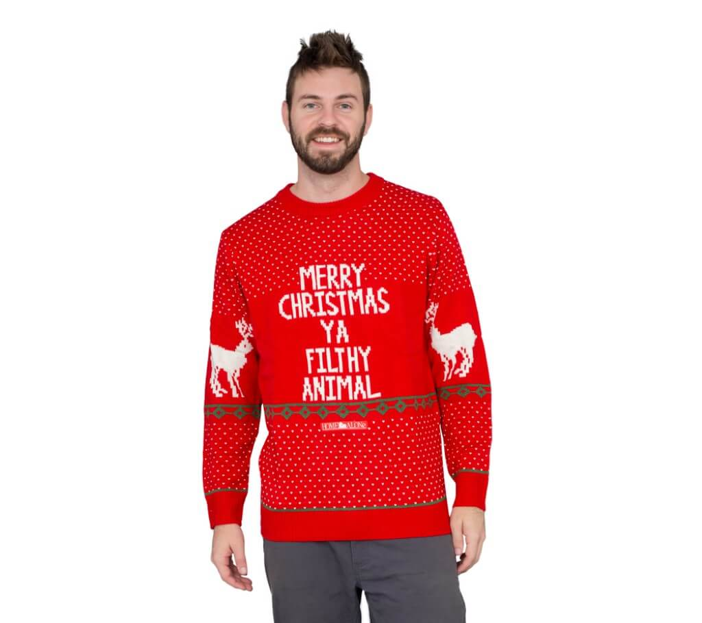 013bf850205 Red Filthy Animal Ugly Christmas Sweater