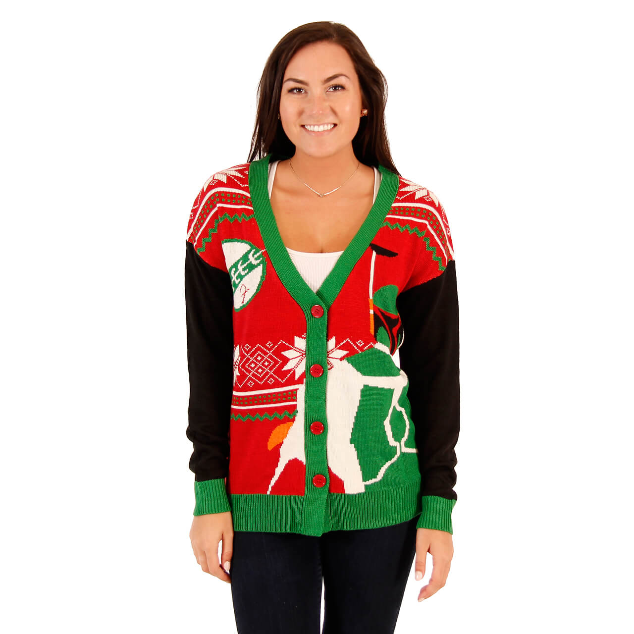 Christmas womens sweaters
